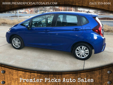 2017 Honda Fit for sale at Premier Picks Auto Sales in Bettendorf IA
