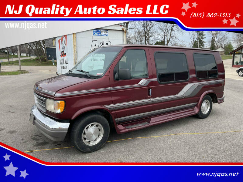 1995 Ford E-Series Cargo for sale at NJ Quality Auto Sales LLC in Richmond IL