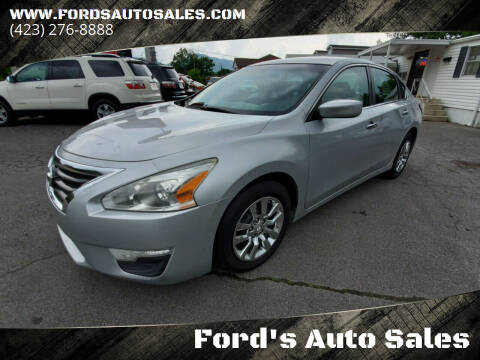 2014 Nissan Altima for sale at Ford's Auto Sales in Kingsport TN