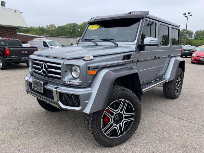 2017 Mercedes-Benz G-Class for sale at Auto Mall of Springfield in Springfield IL
