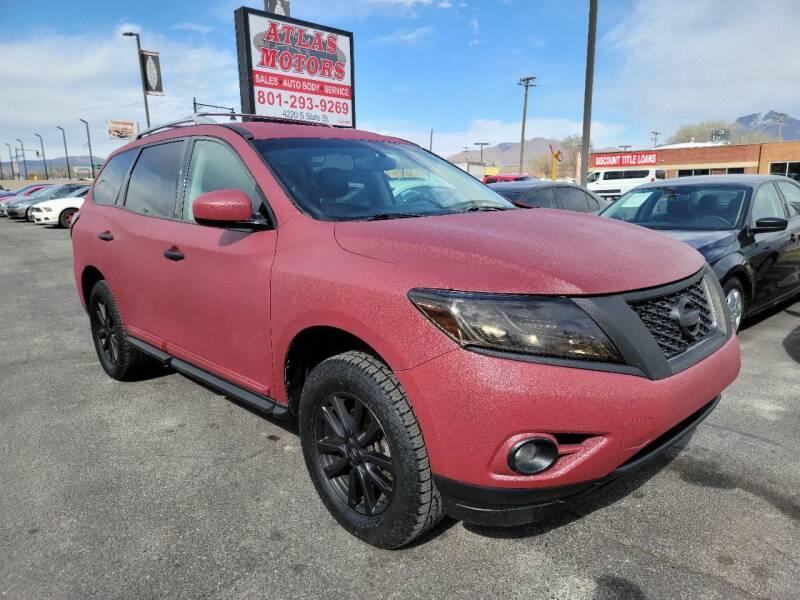 2013 Nissan Pathfinder for sale at ATLAS MOTORS INC in Salt Lake City UT