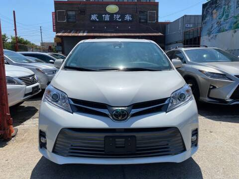 2019 Toyota Sienna for sale at TJ AUTO in Brooklyn NY