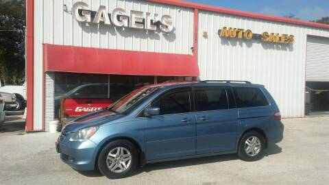2006 Honda Odyssey for sale at Gagel's Auto Sales in Gibsonton FL