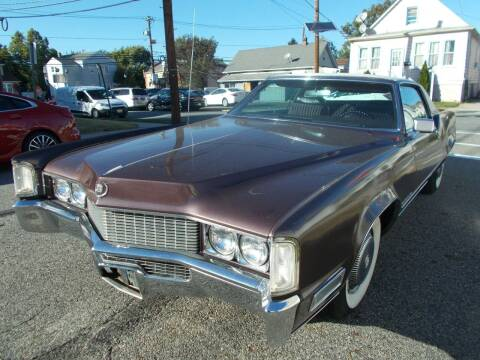 1969 Cadillac Eldorado for sale at Mercury Auto Sales in Woodland Park NJ