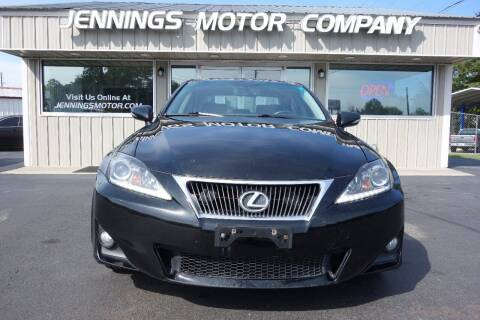 2013 Lexus IS 250 for sale at Jennings Motor Company in West Columbia SC