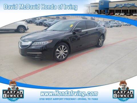 2016 Acura TLX for sale at DAVID McDAVID HONDA OF IRVING in Irving TX
