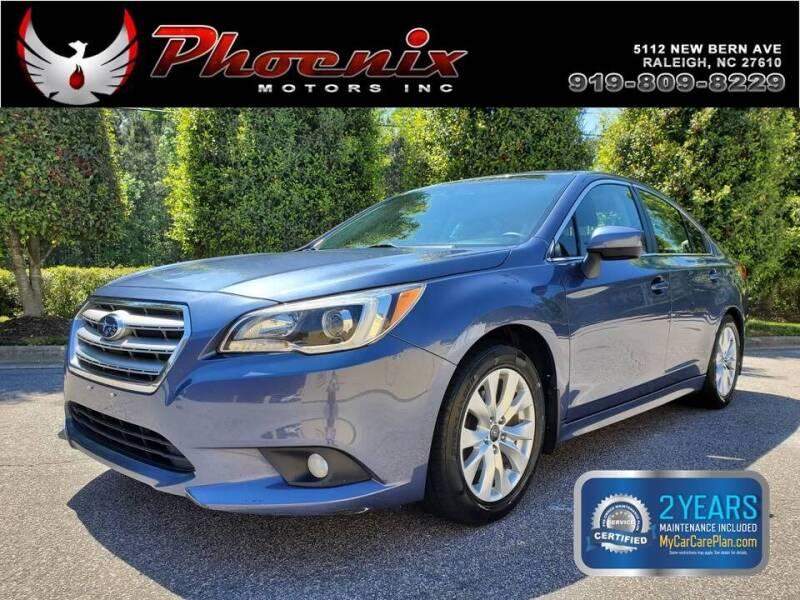 2015 Subaru Legacy for sale at Phoenix Motors Inc in Raleigh NC