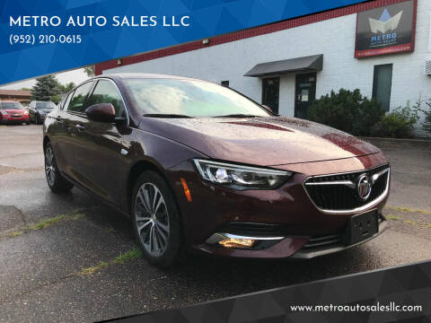 2018 Buick Regal Sportback for sale at METRO AUTO SALES LLC in Blaine MN
