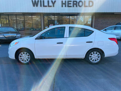 2014 Nissan Versa for sale at Willy Herold Automotive in Columbus GA