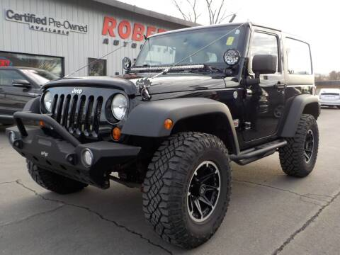 2012 Jeep Wrangler for sale at Roberti Automotive in Kingston NY