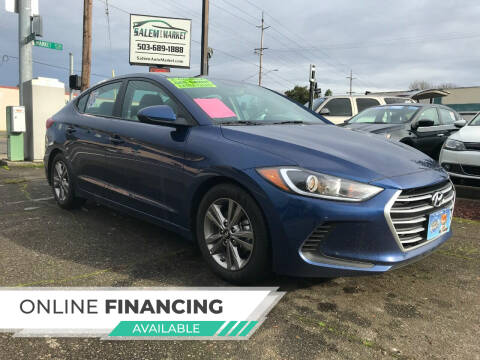 2018 Hyundai Elantra for sale at Salem Auto Market in Salem OR