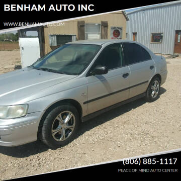 2003 Honda Accord for sale at BENHAM AUTO INC in Lubbock TX