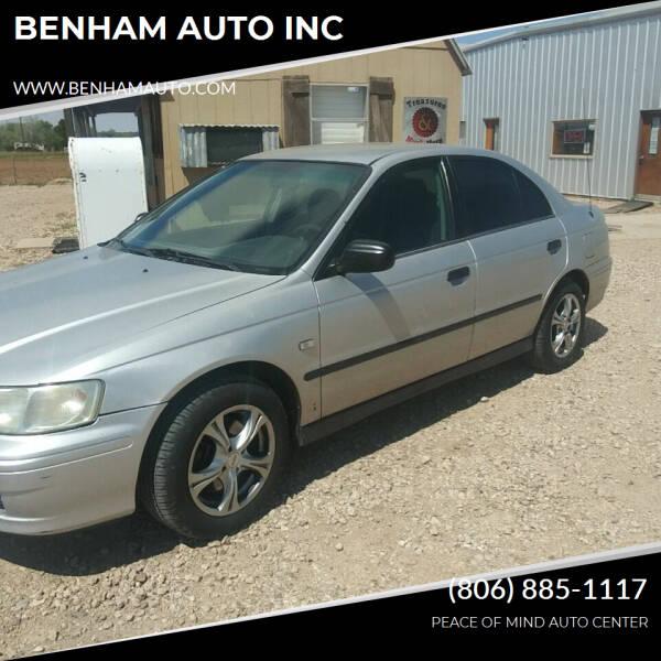 2003 Honda Accord for sale at BENHAM AUTO INC in Lubbock TX