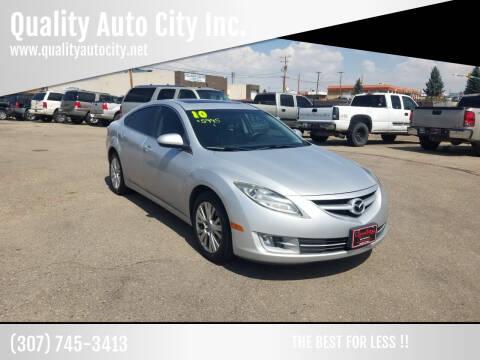 2010 Mazda MAZDA6 for sale at Quality Auto City Inc. in Laramie WY