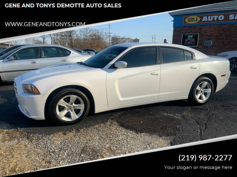 2014 Dodge Charger for sale at GENE AND TONYS DEMOTTE AUTO SALES in Demotte IN