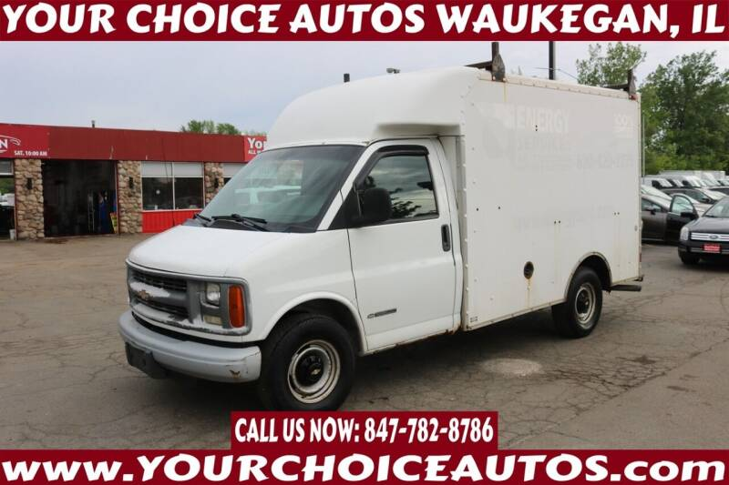 2002 Chevrolet Express Cutaway for sale at Your Choice Autos - Waukegan in Waukegan IL