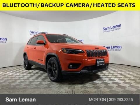 2021 Jeep Cherokee for sale at Sam Leman CDJRF Morton in Morton IL