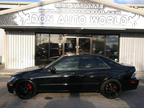 2005 Lexus IS 300 for sale at Don Auto World in Houston TX