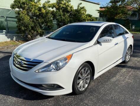2014 Hyundai Sonata for sale at Meru Motors in Hollywood FL