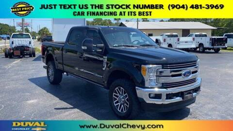 2017 Ford F-350 Super Duty for sale at Duval Chevrolet in Starke FL