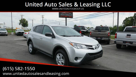 2013 Toyota RAV4 for sale at United Auto Sales & Leasing LLC in La Vergne TN