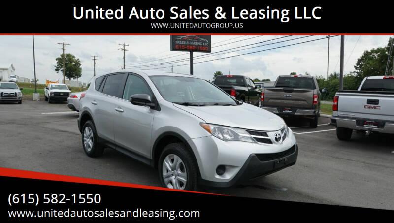 2013 Toyota RAV4 for sale at United Auto Sales & Leasing LLC in La Vergne TN