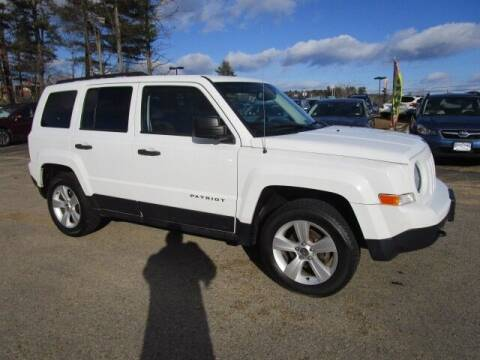 2015 Jeep Patriot for sale at BELKNAP SUBARU in Tilton NH