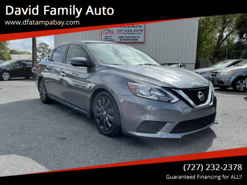 2016 Nissan Sentra for sale at David Family Auto in New Port Richey FL