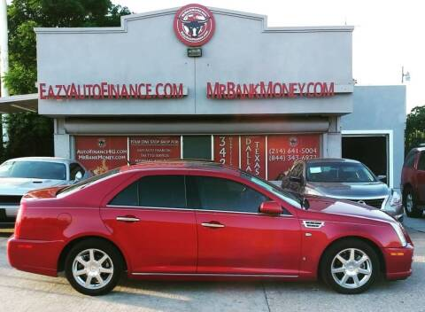 2008 Cadillac STS for sale at Eazy Auto Finance in Dallas TX