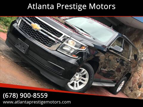 2015 Chevrolet Suburban for sale at Atlanta Prestige Motors in Decatur GA