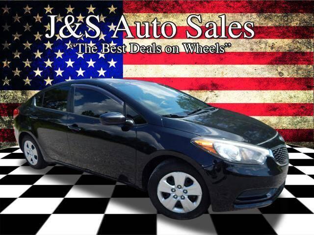 2015 Kia Forte for sale at J & S Auto Sales in Clarksville TN