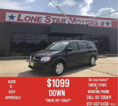 2016 Dodge Grand Caravan for sale at LONE STAR MOTORS II in Fort Worth TX
