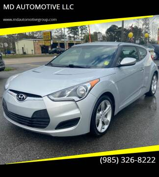 2015 Hyundai Veloster for sale at MD AUTOMOTIVE LLC in Slidell LA