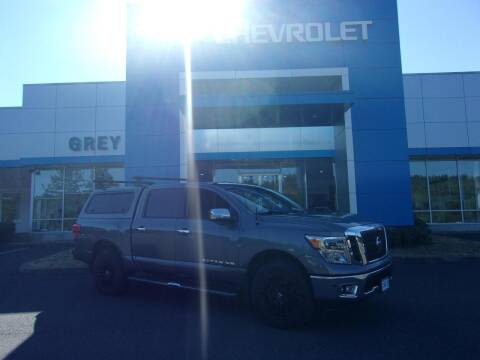2018 Nissan Titan for sale at Grey Chevrolet, Inc. in Port Orchard WA