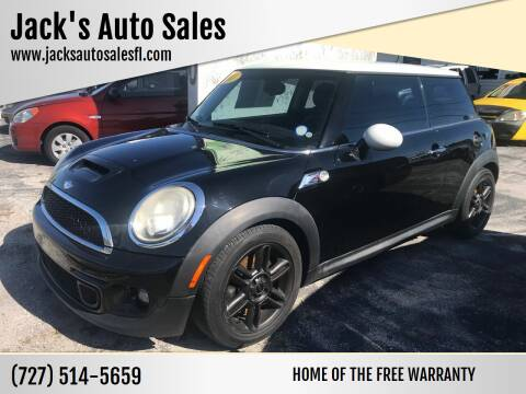 2011 MINI Cooper for sale at Jack's Auto Sales in Port Richey FL