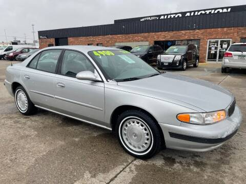 2003 Buick Century for sale at Motor City Auto Auction in Fraser MI