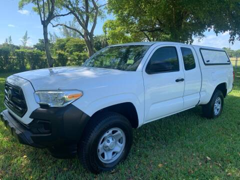 2016 Toyota Tacoma for sale at Top Trucks Motors in Pompano Beach FL