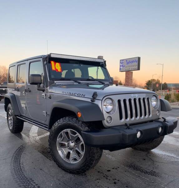 2014 Jeep Wrangler Unlimited for sale at Integrity Auto Center in Paola KS