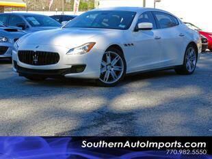 2014 Maserati Quattroporte for sale at Used Imports Auto - Southern Auto Imports in Stone Mountain GA