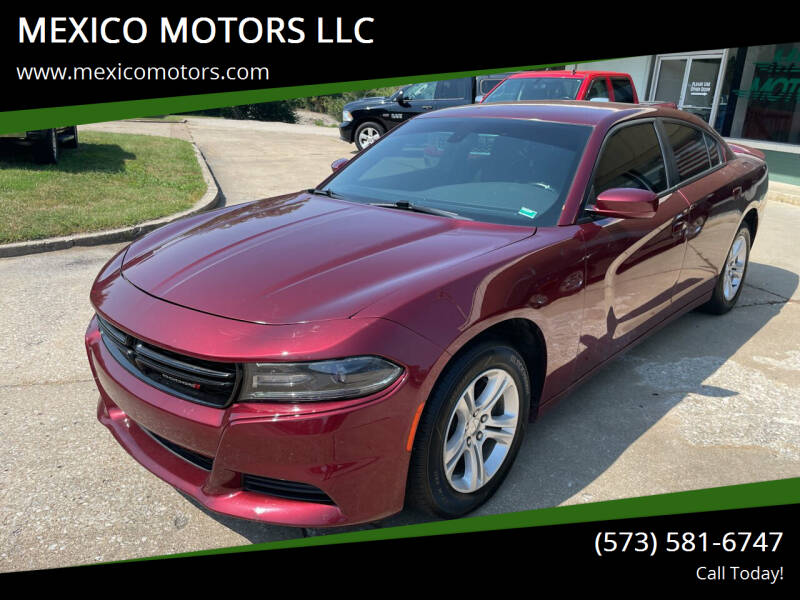 2018 Dodge Charger for sale at MEXICO MOTORS LLC in Mexico MO