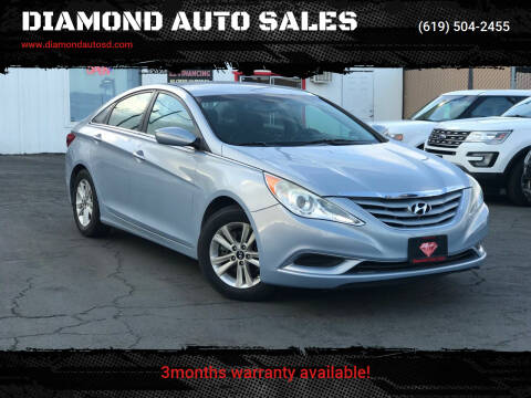 2013 Hyundai Sonata for sale at DIAMOND AUTO SALES in El Cajon CA