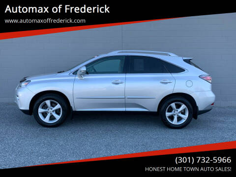 2013 Lexus RX 350 for sale at Automax of Frederick in Frederick MD