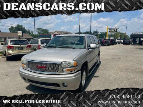 2004 GMC Yukon XL for sale at DEANSCARS.COM in Bridgeview IL