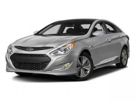 2015 Hyundai Sonata Hybrid for sale at BIG STAR HYUNDAI in Houston TX