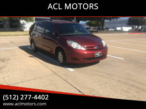 2009 Toyota Sienna for sale at ACL MOTORS in Austin TX
