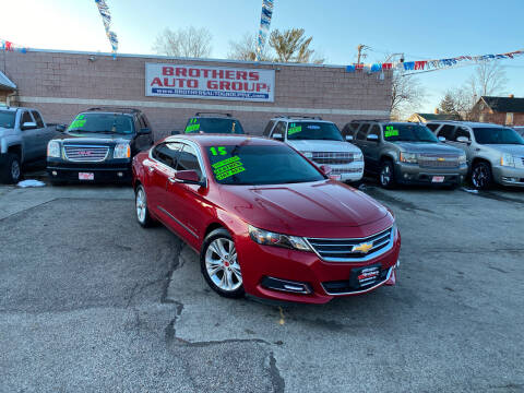 2015 Chevrolet Impala for sale at Brothers Auto Group in Youngstown OH
