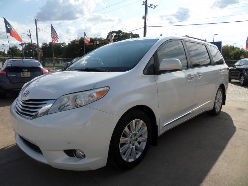 2012 Toyota Sienna for sale at West End Motors Inc in Houston TX