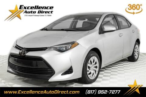 2018 Toyota Corolla for sale at Excellence Auto Direct in Euless TX
