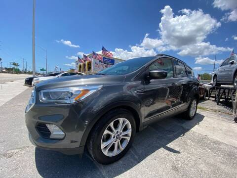 2017 Ford Escape for sale at INTERNATIONAL AUTO BROKERS INC in Hollywood FL