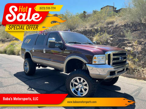 2000 Ford Excursion for sale at Baba's Motorsports, LLC in Phoenix AZ